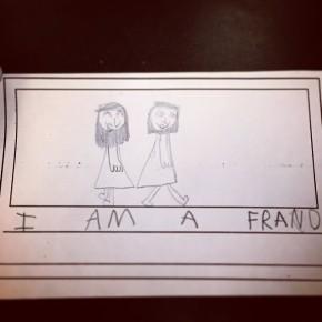 Kindergarten = early storyboard training. I am a frand.