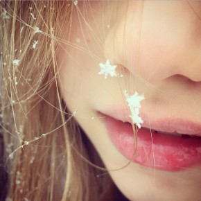 Perfect snowflake! Maybe a little too on the nose?